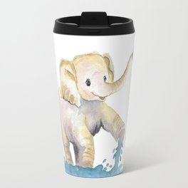 Baby Elephant 2 Travel Mug