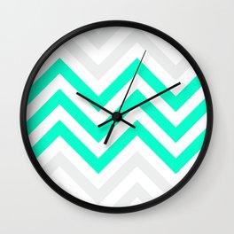 Chevronia V Wall Clock