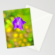 Capanula. Mountain flora. Spring on high. Stationery Cards