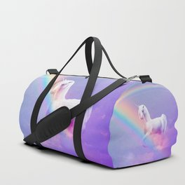 Unicorn and Rainbow Duffle Bag