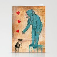will graham Stationery Cards featuring GRAHAM CRACKERS by RAGING BUNNIES