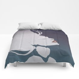Floatinf Face Comforters