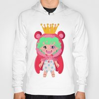 one piece Hoodies featuring Sugar from one piece by Dama Chan