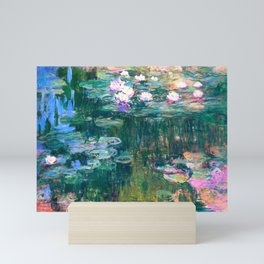 water lilies : Monet Mini Art Print
