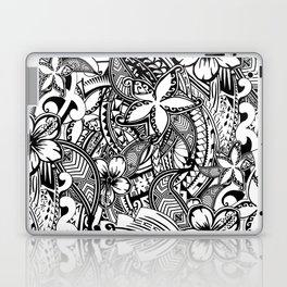 Hawaiian Polynesian Trbal Tatoo Print Laptop & iPad Skin