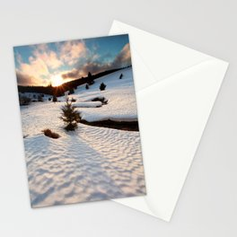 Winter story Stationery Cards