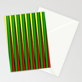 Kinetic Rasta Stationery Cards