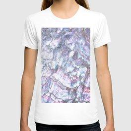 Mermaid Shell Beautiful Pearly Surface #decor #society6 #buyart T-shirt