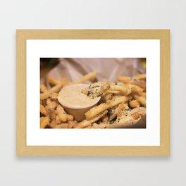 A Side of Fries Framed Art Print