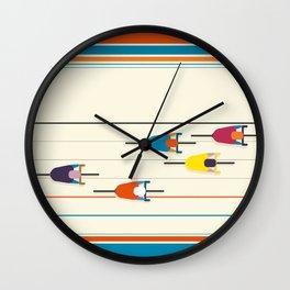 Never stop riding! Wall Clock