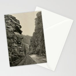 Clear Creek Canon ox the Far-famed Georgetown Loop Trip. Colorado & Southern Railway. IX Stationery Cards