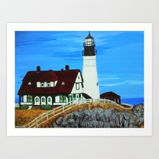 Lighthouse 1 Art Print