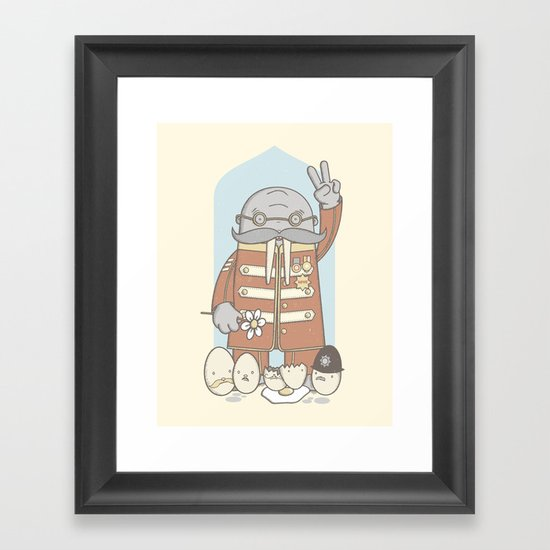 Meet The Walrus Framed Art Print