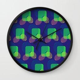 pattern circulos Wall Clock