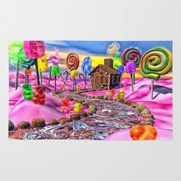 Pink Candyland Rug