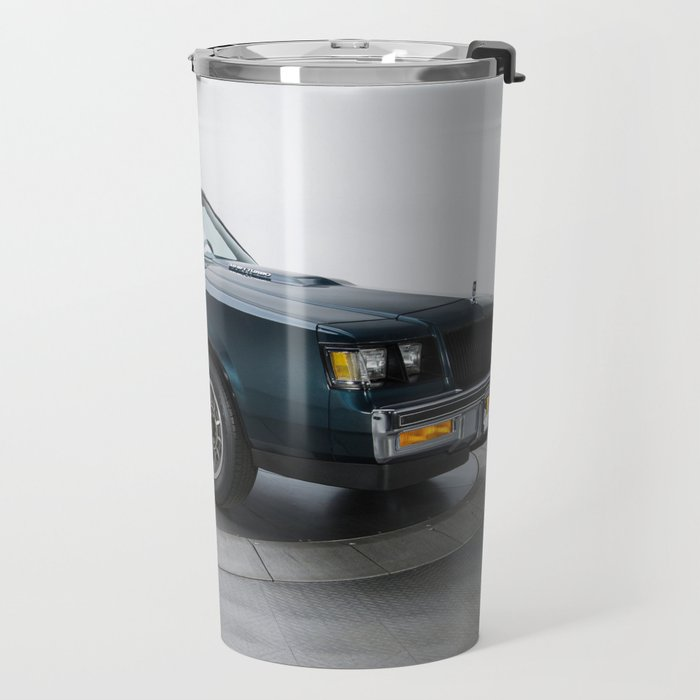 1987 Blue Grand National Regal Turbo T-Type Travel Mug