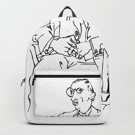 Pablo Picasso Igor Stravinsky Portrait T Shirt, Reproduction Backpack