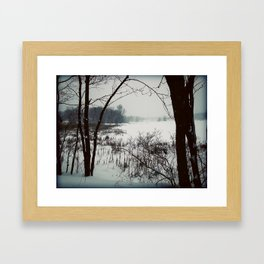 Chilled Evening II Framed Art Print