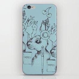 Indie Rabbit iPhone Skin