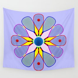 Racquetball Design version 2 Wall Tapestry