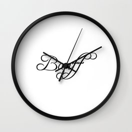 Banff Wall Clock