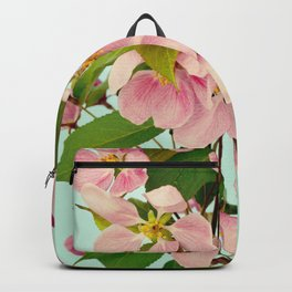 Hello Spring - Pastel Pink Cherry Blossom Flowers Backpack