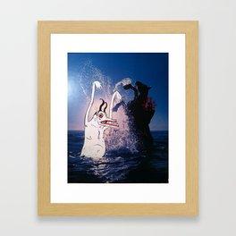 Monster Beach Party Framed Art Print