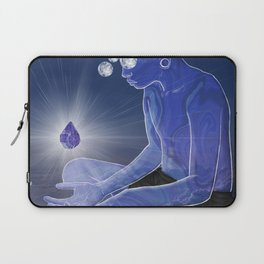Labradorite gemstone Laptop Sleeve