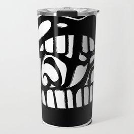 WTF: Black and White Travel Mug
