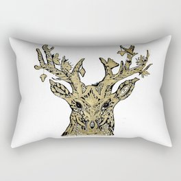 Hirsch gold Rectangular Pillow