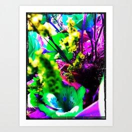Pop Fairy Flower World Art Print