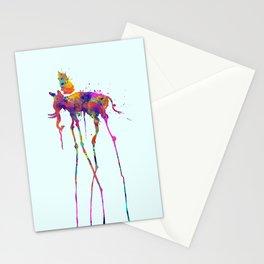 Dali Elephant Stationery Cards