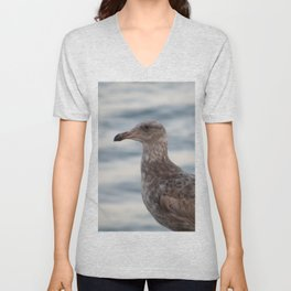 Young Gull in Malibu Unisex V-Neck