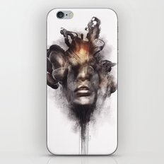Portrait 16 iPhone & iPod Skin