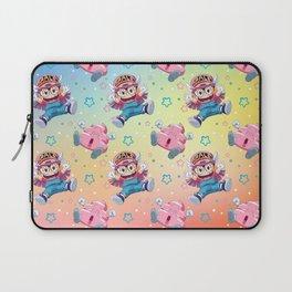 Arale & Poop Pattern Laptop Sleeve