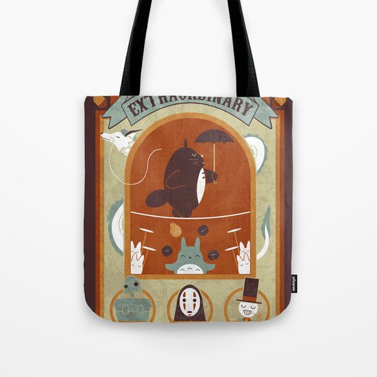 The Moving Circus Tote Bag