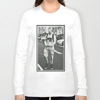 niall horan Long Sleeve T-shirts featuring Niall Horan; Better Than Words by Madison Neumann