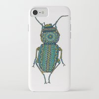 beetle iPhone & iPod Cases featuring Beetle by Emilie Darlington