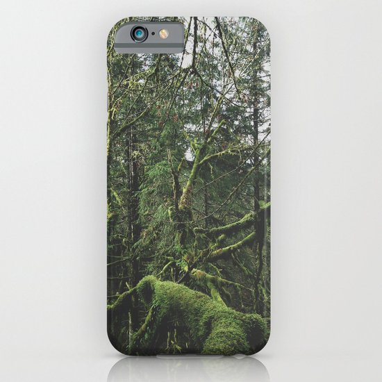 Moss Covered Trees iPhone & iPod Case
