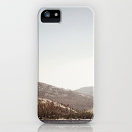 Lake and Mountains iPhone Case