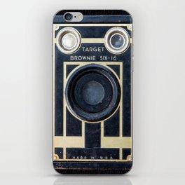 Vintage Brownie Camera iPhone Skin