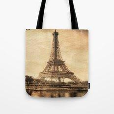 Vintage Eiffel Tower 2 Tote Bag