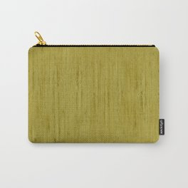 Pale Yellow Stone Structure Carry-All Pouch