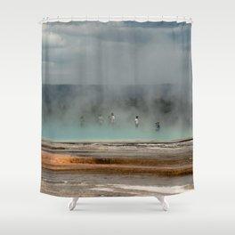 Geyser Heaven Shower Curtain