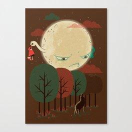 The G[RED] Escape Canvas Print