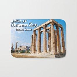 Temple of Olympian Zeus - Athens Greece Bath Mat