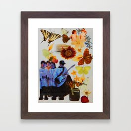 Absolutely Free. Framed Art Print