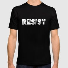 Resist Black X-LARGE Mens Fitted Tee