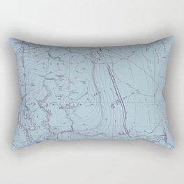 Contour Mapping v.2 Rectangular Pillow