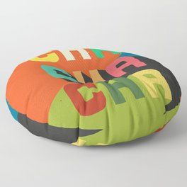 Cha cha cha Floor Pillow